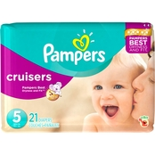 Pampers Cruisers Diapers Size 4, 24 ct.