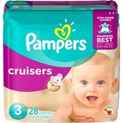PAMPERS CRUISERS S3 JUMBO 28CT