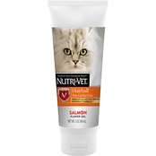 Nutri-Vet Paw Gel Hairball Salmon Cat Supplements 3 oz.