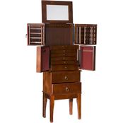 SEI Traditional Jewelry Armoire