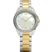 COACH Women's Tristen Two Tone Bracelet Watch 32mm 14501659
