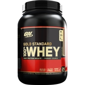 Optimum Nutrition Gold Standard 100% Whey Supplement Double Rich Chocolate 1 Lb.