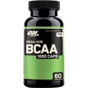 Optimum Nutrition BCAA 1000 Caps Supplement 60 Ct.