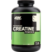 Optimum Nutrition Creatine Powder Supplement 600g, 1.32 lb.
