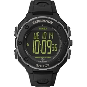 Timex Men's Expedition Shock Resistant Digital XL Vibrating Alarm Watch 49950