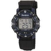 Armitron Men's Sport Accented Digital Chronograph Nylon Strap Watch 40/8291