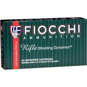 Fiocchi .243 Win 70 Gr. Pointed Soft Point, 20 Rounds