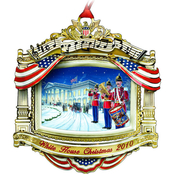 ChemArt 2010 White House Christmas Ornament