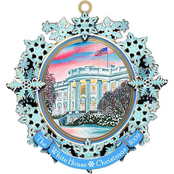 ChemArt 2009 White House Christmas Ornament