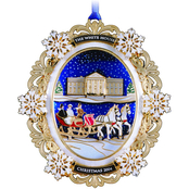 ChemArt 2004 White House Christmas Ornament