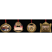 ChemArt 1994 to 1997 White House Christmas Ornament Box Set