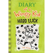 Diary of a Wimpy Kid #8: Hard Luck (Hardcover)