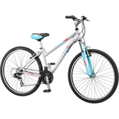 Schwinn Womens High Timber 27.5 in. Front Suspension Mountain Bicycle