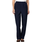Alfred Dunner All Around Pull On Pants, Proportioned Short Length