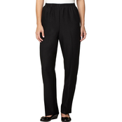 Alfred Dunner All Around Pull On Pants, Proportioned Medium Length
