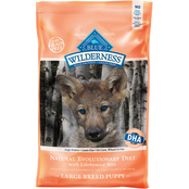 Blue Buffalo Wilderness Large Breed Chicken Recipe Puppy Food 24 lb.