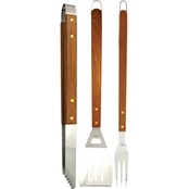 Char-Broil Wood Handle BBQ Tool 3 Pc. Set