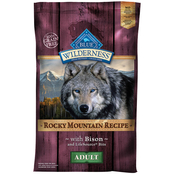 Blue Buffalo Wilderness Rocky Mountain Bison Recipe Dog Food