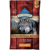 Blue Buffalo Wilderness Rocky Mountain Red Meat Recipe Large Breed Dog Food, 22 lb.