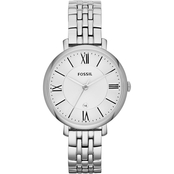 Fossil Women's Jacqueline Three Hand Stainless Steel Watch ES3433