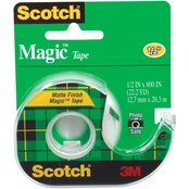 Scotch Magic Invisible Tape, 1/2 in. x 800 in.