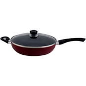 Simply Perfect 11 in. Deep Fry Pan with Lid