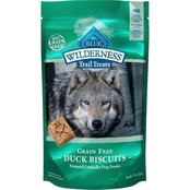 Blue Buffalo Wild Duck Biscuit Dog Treats 10 oz.