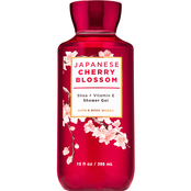 Bath & Body Works Japanese Cherry Blossom Shower Gel for Women from the Signature Collection 10 oz.