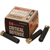 Hornady Critical Defense 410 Ga. 2.5 in. Triple Defense Load, 20 Rounds