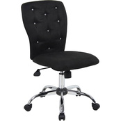 Presidential Seating Black Microfiber Chair