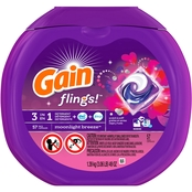 Gain Flings Moonlight Breeze Scent Laundry Detergent Pacs 57 pk.