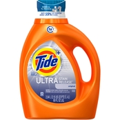 Tide Liquid Ultra Stain Release HE Turbo Clean Laundry Detergent, 69 oz.