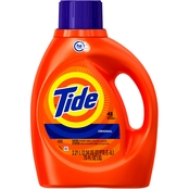Tide Original Scent HE Liquid Laundry Detergent 75 Oz. 48 Loads