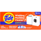 Tide Washing Machine Cleaner, 5 pk.