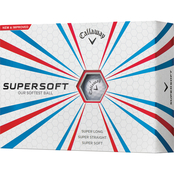 Callaway New Supersoft Golf Balls 12 pk.