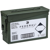 Federal XM193 5.56 NATO 55 Gr. FMJ Clipped in Can, 420 Rounds