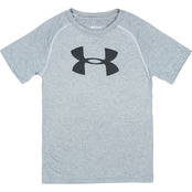 Under Armour Little Boys Big Logo Tee