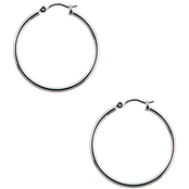 Nine West Medium Hoop Pierced Earrings