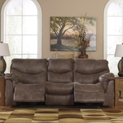 Signature Design By Ashley Alzena Reclining Sofa