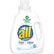 All Ultra Free Clear HE Liquid Laundry Detergent