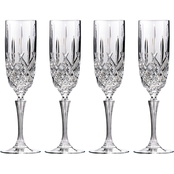 Marquis by Waterford Markham Flute Glass Set of 4