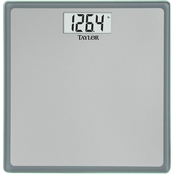 TAYLOR    DIGITAL GLASS SCALE -SILVER