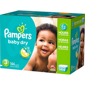 Pampers Baby Dry Diapers Size 3 (16-28 lb.) Choose Count
