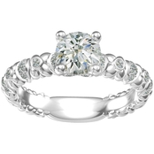 Harout R 14K White Gold 2/3 CTW Diamond Engagement Ring
