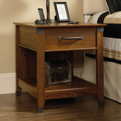 Sauder Carson Forge SmartCenter Side Table