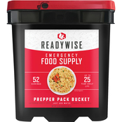 Wise Emergency Food Grab and Go Prepper Pack, 52 Servings