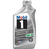 Mobil 1 10W-30 Synthetic Motor Oil, 1 Qt.
