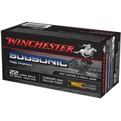 Winchester Max .22 LR 42 Gr. Subsonic, 50 Rounds
