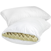 Snuggle Home Memory Foam and Fiber Pillows 2 pk.