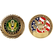 Challenge Coin Us Army Retired Coin